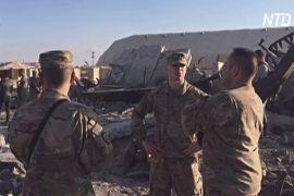 Як врятувалися військові під час обстрілу бази США в Іраку