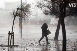 Шторм «Глорія» приніс на схід Іспанії небувалі снігопади