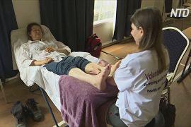 Австралійським погорільцям роблять безкоштовний масаж
