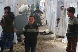 ООН: з початку грудня 700 тисяч сирійців були змушені втікати з Ідлібу