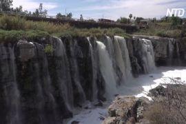 Забруднення річки поруч із «мексиканським Ніагарським водоспадом» стало екстремальним