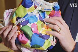 Британські батьки дедалі частіше обирають для своїх дітей багаторазові підгузки