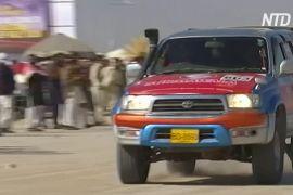 У Пакистані зростає популярність ралі на позашляховиках