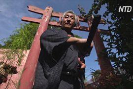 «Останній бразильський самурай» зберігає традиції виготовлення японських мечів