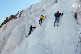 В індійському Ладакху вперше пройшов фестиваль льодолазіння