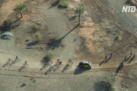 В ОАЕ пройшов перший етап перегонів на гірських велосипедах HERO World Series