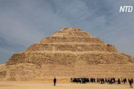 Після 14 років реставрації в Єгипті відкрили піраміду Джосера