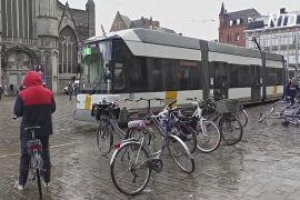 Заборона на автомобілі вплинула на центр міста Гент