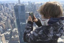 Найвищий оглядовий майданчик у Західній півкулі відкрився в Нью-Йорку