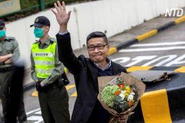 Один з лідерів Революції парасольок у Гонконзі вийшов на свободу