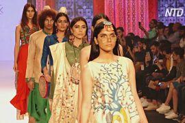 Тиждень моди в Мумбаї: натуральні тканини й перероблені матеріали