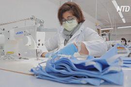 Замість високої моди — маски: італійська фабрика перепрофілювалася