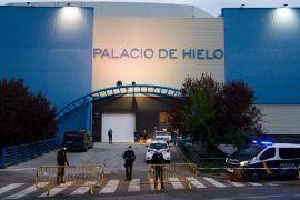 У Мадриді Льодовий палац переобладнали в морг
