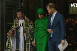 Гаррі й Меган востаннє з'явилися на публіці як монарше подружжя