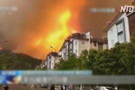 19 людей загинуло в Китаї під час гасіння лісової пожежі