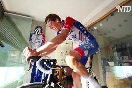 Велоперегони «Тур Швейцарії» через епідемію зробили віртуальними