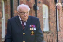 99-річний ветеран зібрав £ 5 млн для медиків, які лікують пацієнтів із COVID-19