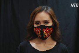 Безпечно й модно: дизайнерка прикрашає маски в'єтнамською вишивкою
