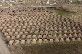 У Дніпрі викопали понад 600 могил для можливих померлих від коронавірусу