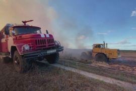 У Чорнобильській зоні й далі вирують лісові пожежі