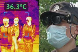 У Китаї «розумні» окуляри дистанційно вимірюють температуру тіла людей
