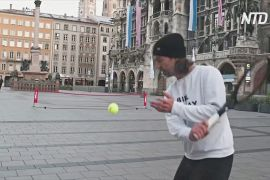 Теніс в умовах карантину: корти перемістилися на вулиці