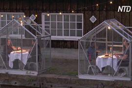 В Амстердамі придумали, як романтично повечеряти в умовах пандемії