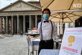 Італія послаблює карантин, але туристів у Римі поки немає