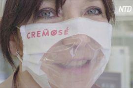 Італійці роблять прозорі маски, щоб було видно усмішку