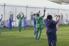 Нігерійські медики співають і танцюють для пацієнтів із COVID-19