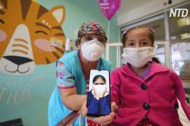 Відеозв'язок із батьками допомагає одужувати пацієнтам дитячої лікарні