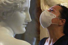 Час насолоджуватися мистецтвом: музеї в Римі відкрилися, але майже порожні