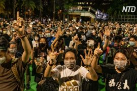 У Гонконзі й Тайвані вшанували жертв «Бійні на Тяньаньмень»