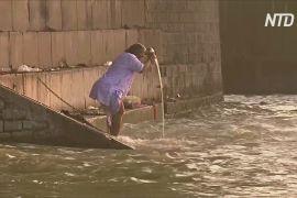 Священна індійська річка очистилася завдяки карантину