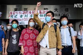 Сотні гонконжців вийшли в річницю протестів проти закону про екстрадицію