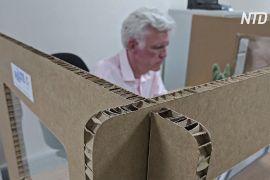 У Великій Британії почали виготовляти картонні офісні перегородки
