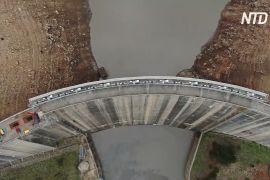 Одне з найбільших водосховищ Аделаїди спорожнили для ремонту