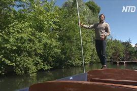 Традиційні човни із жердинами повертаються на канали Кембриджа