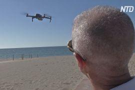 Технології забезпечують дезінфекцію й дистанцію на пляжах Іспанії