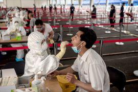 У Пекіні триває масове тестування на коронавірус