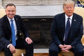 Дональд Трамп прийняв у Білому домі президента Польщі Анджея Дуду