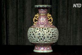 Колись загублену китайську вазу продадуть на аукціоні за мільйони доларів