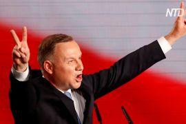 Очільник Польщі Анджей Дуда лідирує в першому турі президентських виборів