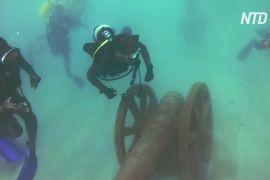 Розвага для дайверів: на Шрі-Ланці відкрили підводний музей
