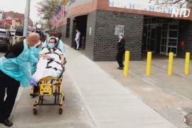 Світовий антирекорд: за день у США на коронавірус захворіло понад 55 тисяч осіб