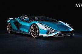 Lamborghini демонструє гібридний родстер Sian — перший в історії марки