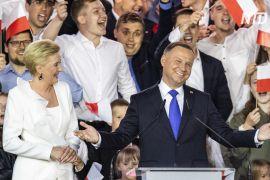 Президента Польщі Анджея Дуду переобрали на новий п'ятирічний термін