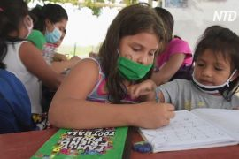 Школа під деревом: підліток навчає еквадорських дітей під час карантину