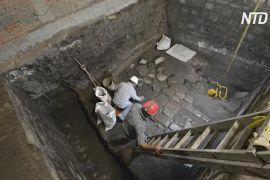 У Мехіко знайшли рештки палацу ацтеків і резиденції іспанського конкістадора