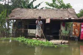 4 млн людей покинули свій дім через повені в Індії та Непалі